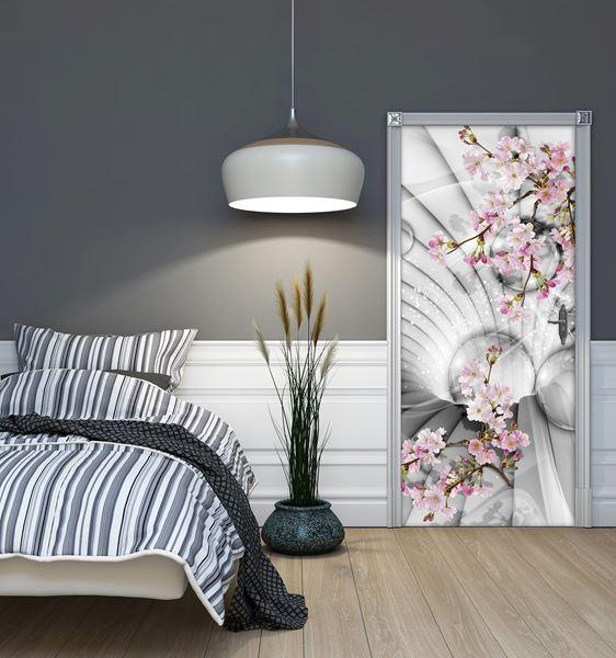 Obrazek Tunel 3D z kwiatami