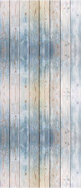 Bild von Blaues Holzbretter