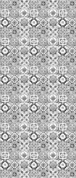 Obrazek Czarno-białe kafelki