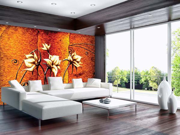 Obrazek Kwiaty z efektem malarskim
