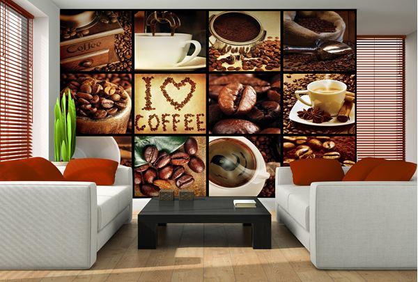 Obrazek Kolaż I Love Coffee