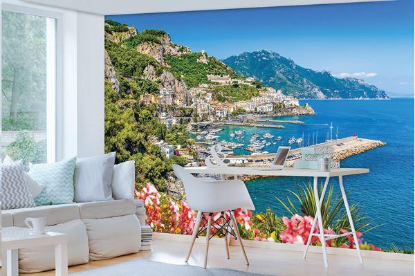 Bild von Berge und malerische Meerblick
