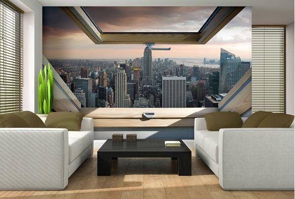 Obrazek Widok z okna na Nowy Jork