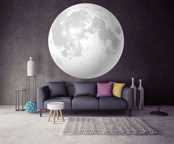 Obrazek Księżyc - widok z kosmosu