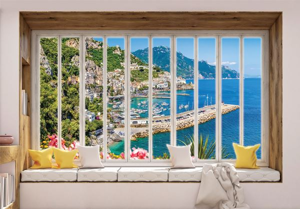 Obrazek Widok z okna na zatokę