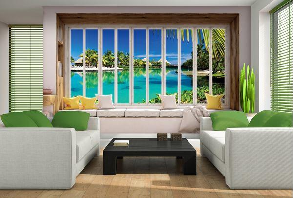 Obrazek Widok z okna na Hawaje