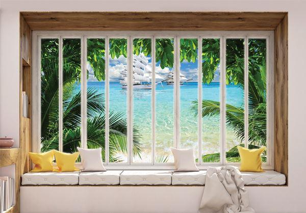 Obrazek Widok z okna na ocean
