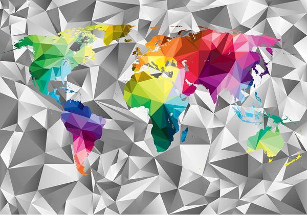 Bild von Bunte Karte