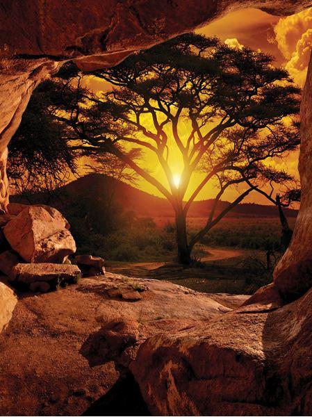 Obrazek Kanion - Zachód słońca