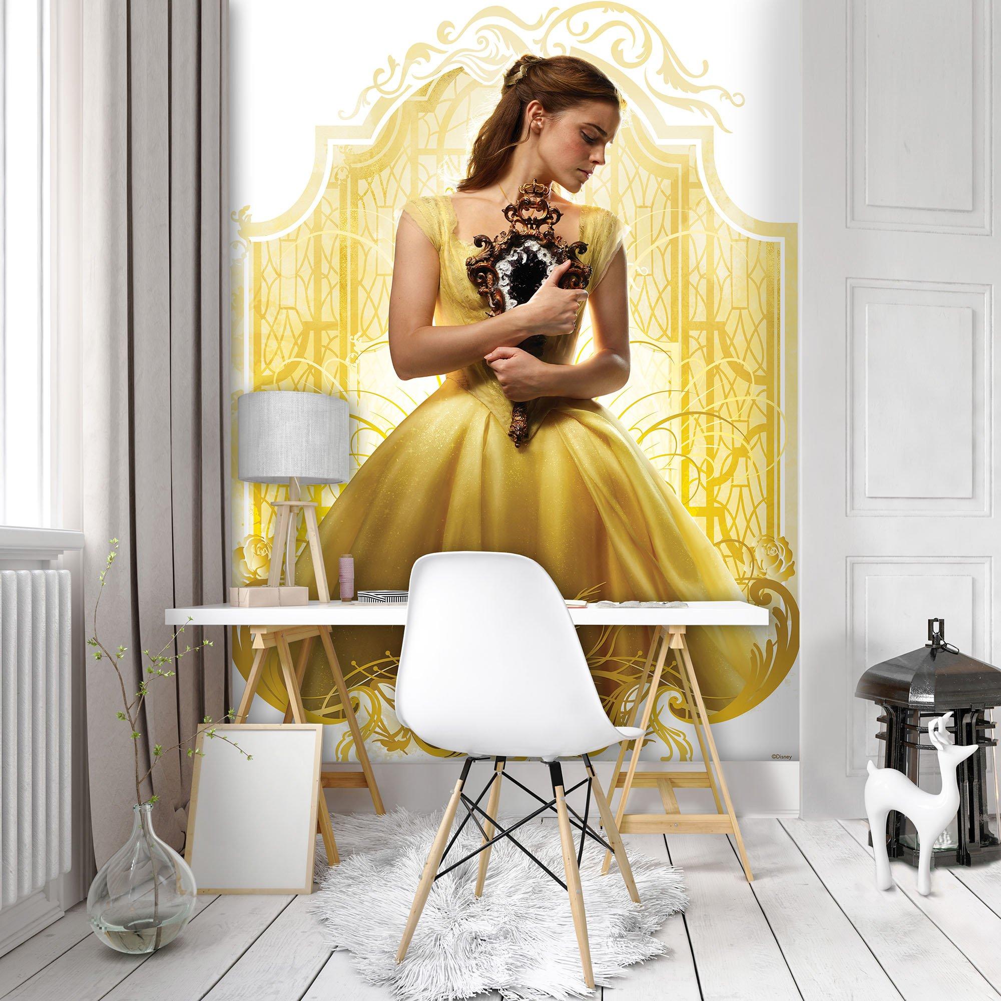 disney die sch ne und das biest fototapete 9615. Black Bedroom Furniture Sets. Home Design Ideas