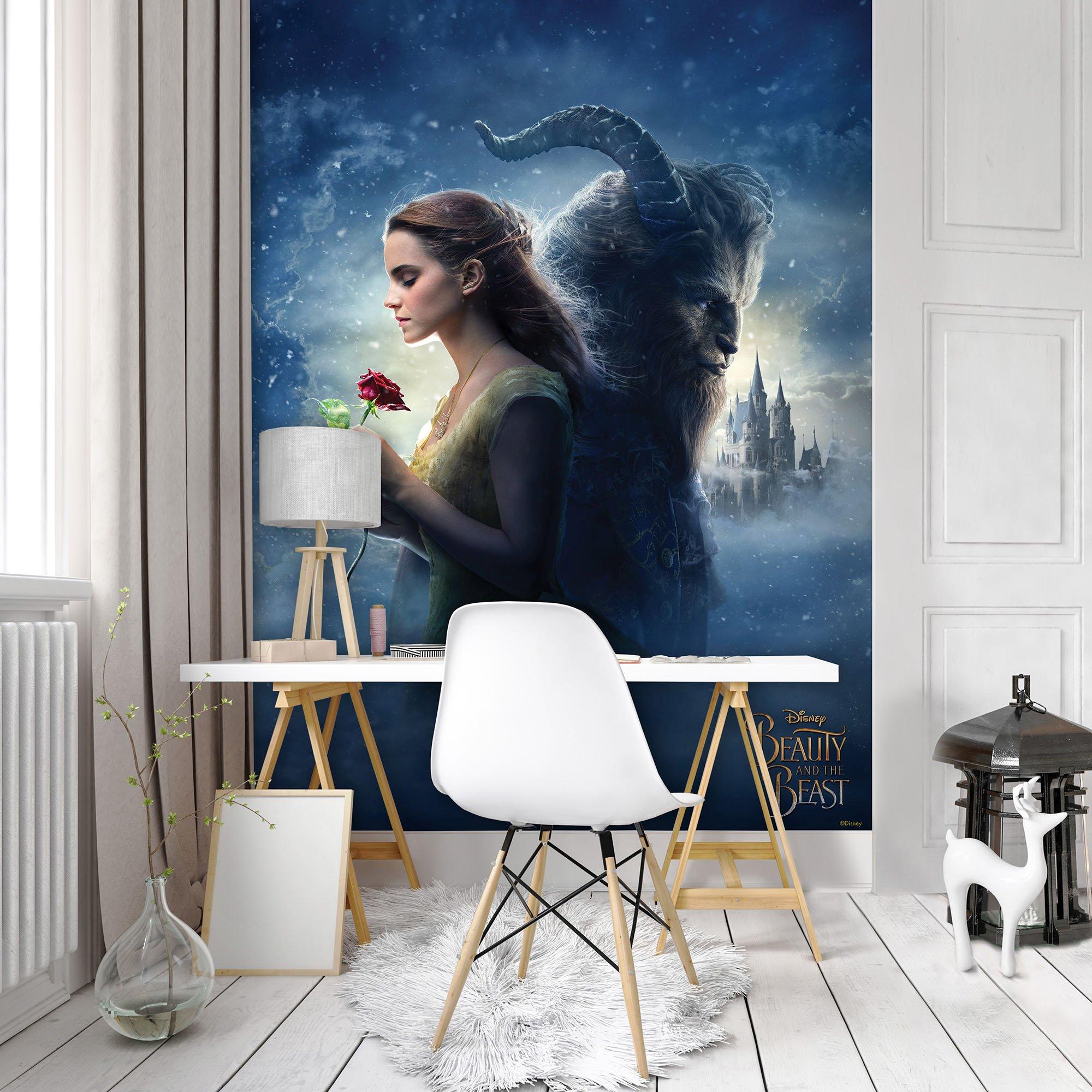 disney die sch ne und das biest fototapete 9617. Black Bedroom Furniture Sets. Home Design Ideas