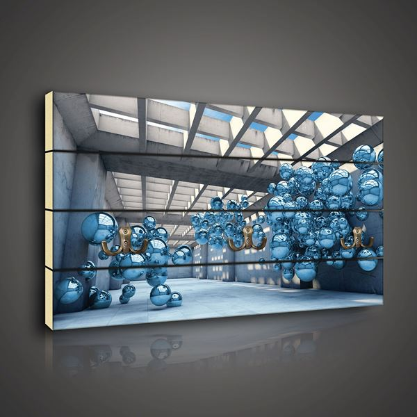 Picture of 3D Blue Modernism