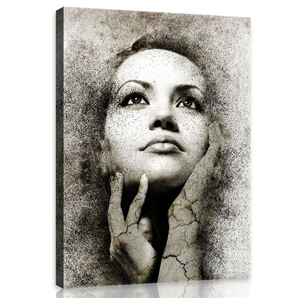 Obrazek Twarz tajemnicznej kobiety