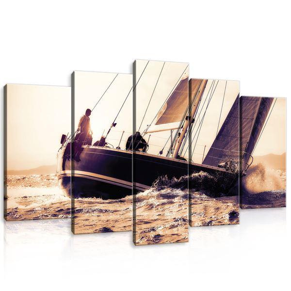 Obrazek Statek na morzu