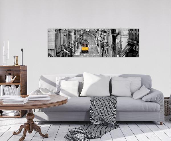 Obrazek Żółty tramwaj