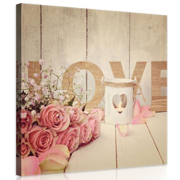 Obrazek Róże na deskach