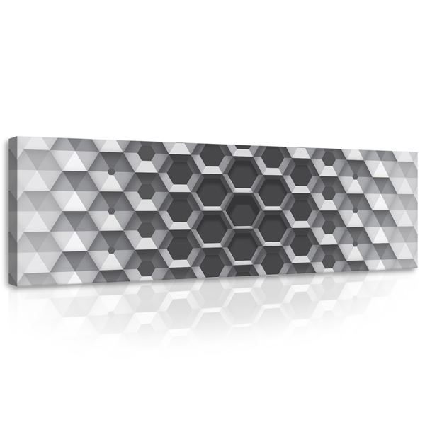 Picture of 3D Hexagons