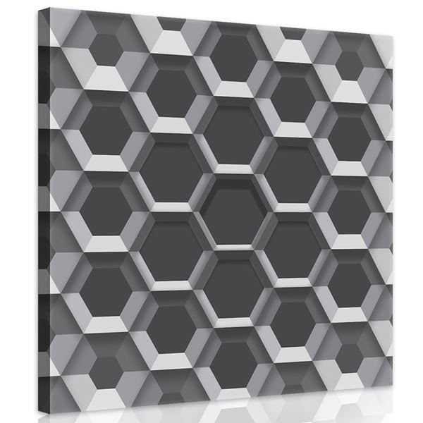 Obrazek Heksagony 3D