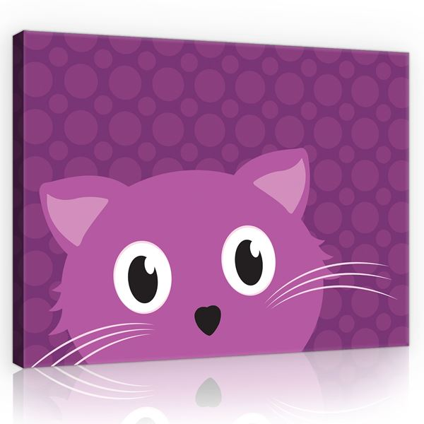 Picture of Purple cat