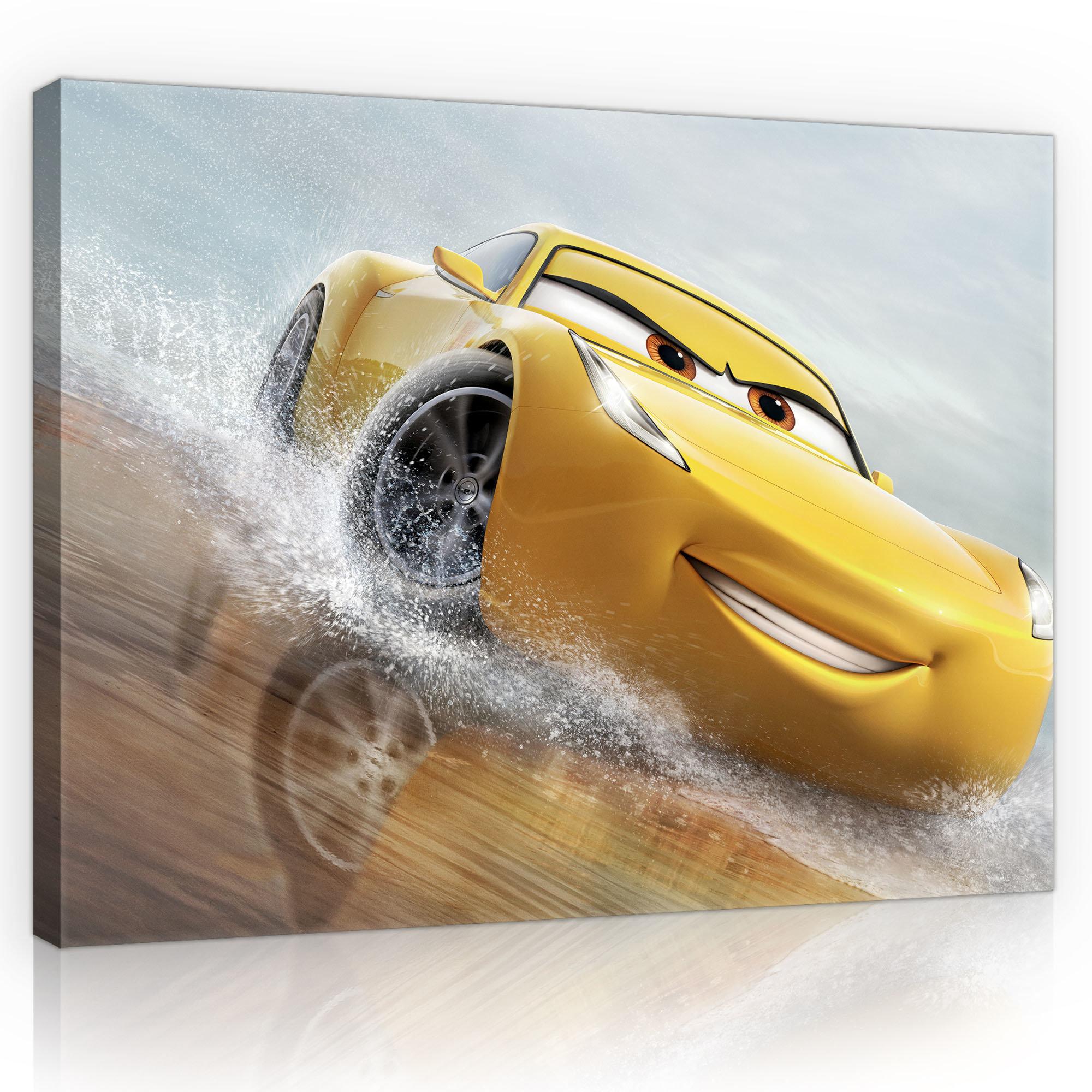 Leinwandbild Disney Cars 3 Cruz Ramirez