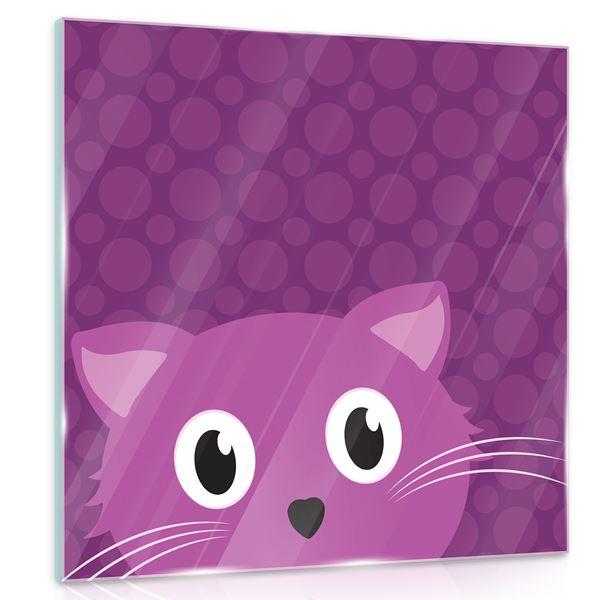 Picture of Purple cat