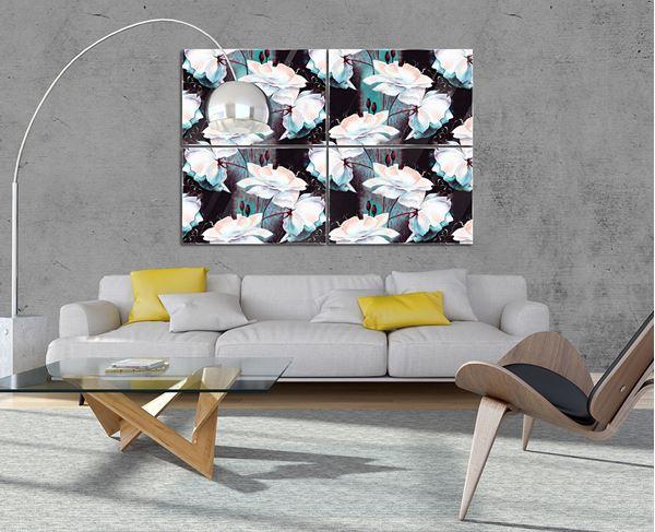 Bild von Blumen Muster