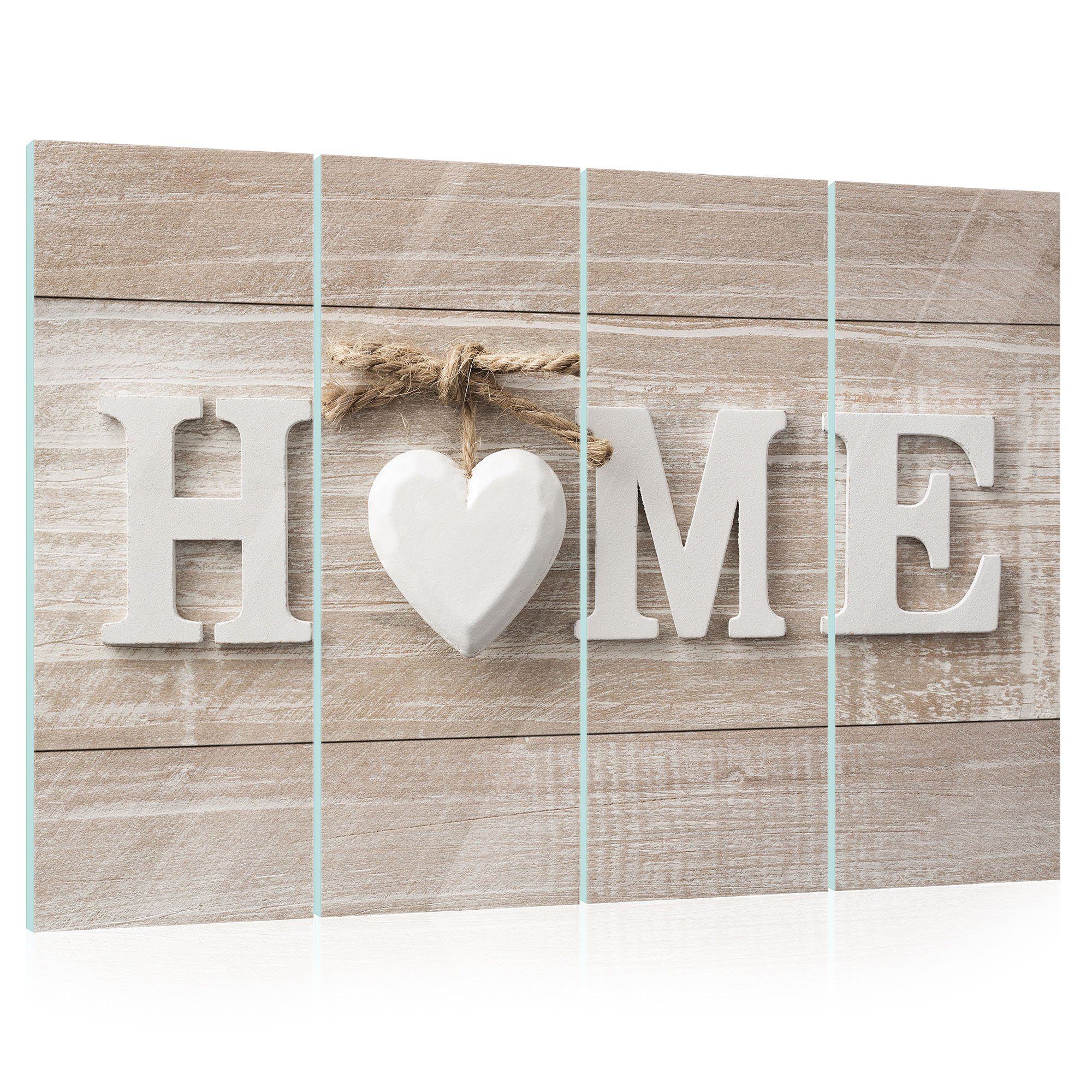 glasbild home weltderbilder. Black Bedroom Furniture Sets. Home Design Ideas