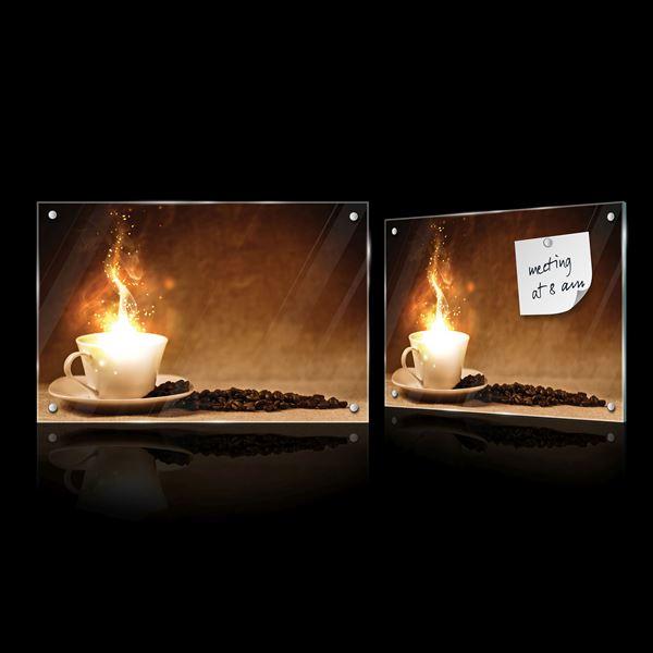 Obrazek Kawa z płomieniem