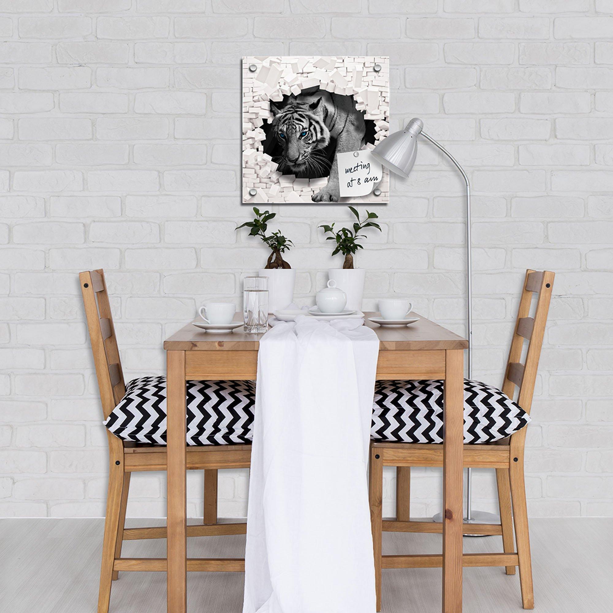 forwall fototapety tabepty obrazy 3d tiger kommt aus der wand. Black Bedroom Furniture Sets. Home Design Ideas