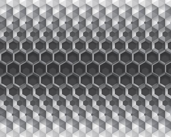 Bild von 3D Hexagon