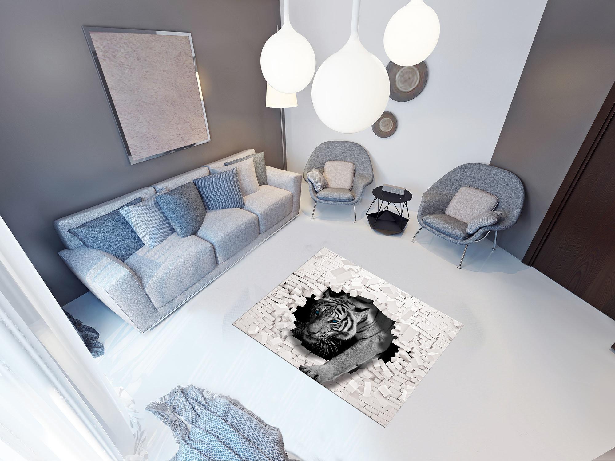 forwall fototapety tabepty obrazy 3d tiger kommt aus. Black Bedroom Furniture Sets. Home Design Ideas