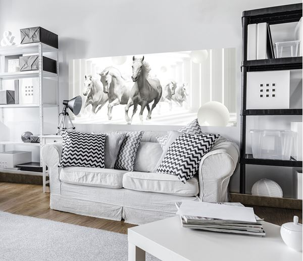 Picture of Abstract horses