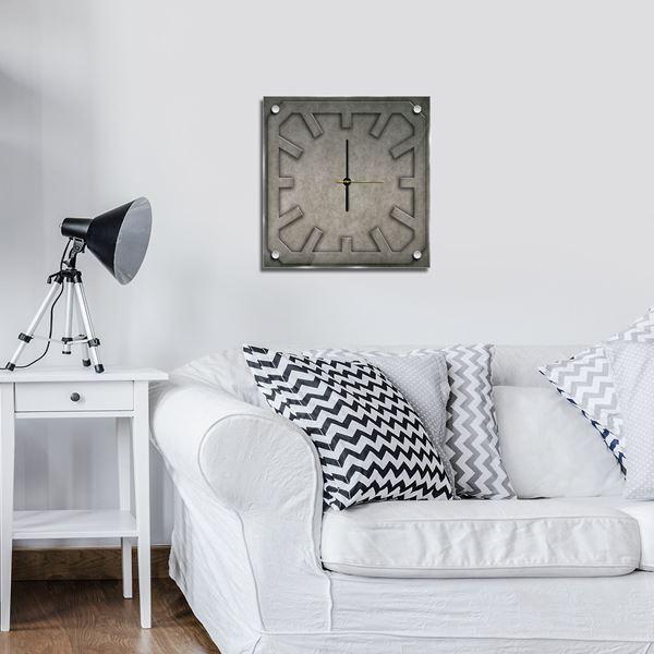 Bild von Glas-Uhren G7 (40 x 40 cm)